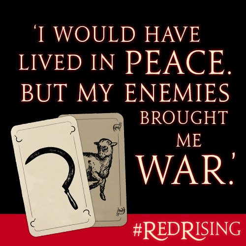 Full Of Rage Quotes: RED RISING Round-Up