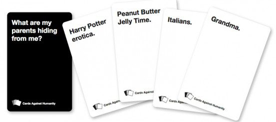 Weekend Roundup: Cards Against Humanity