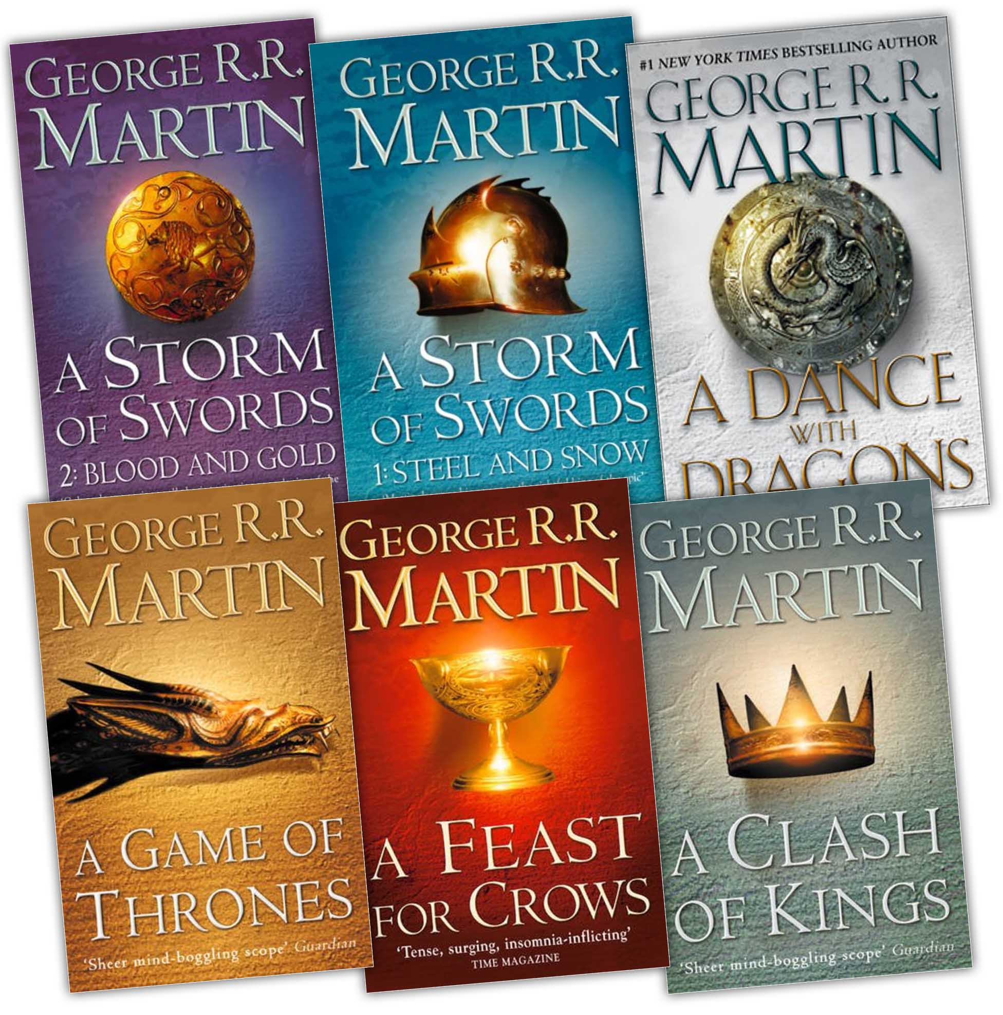 book for games of thrones