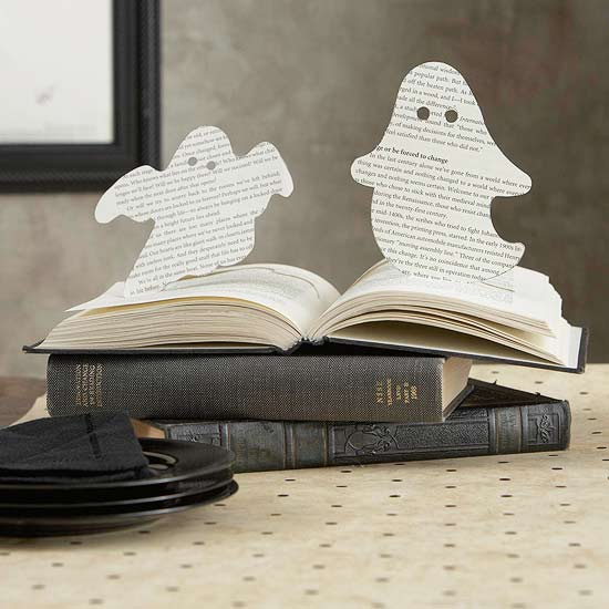 Ghost pop-up book Halloween craft