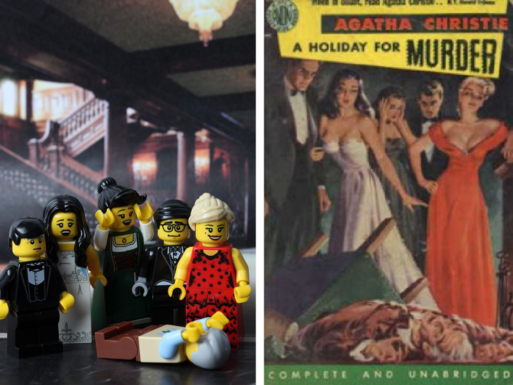 A Holiday for Murder Lego