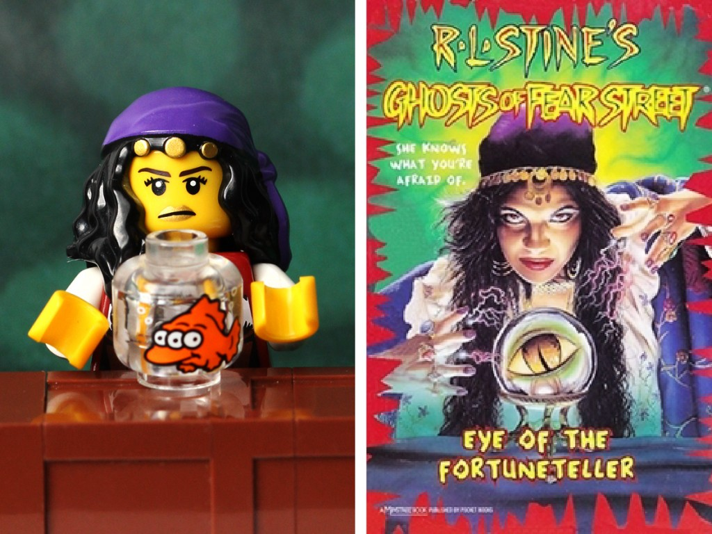 R.L Stine Eye of the Fortune Teller Lego