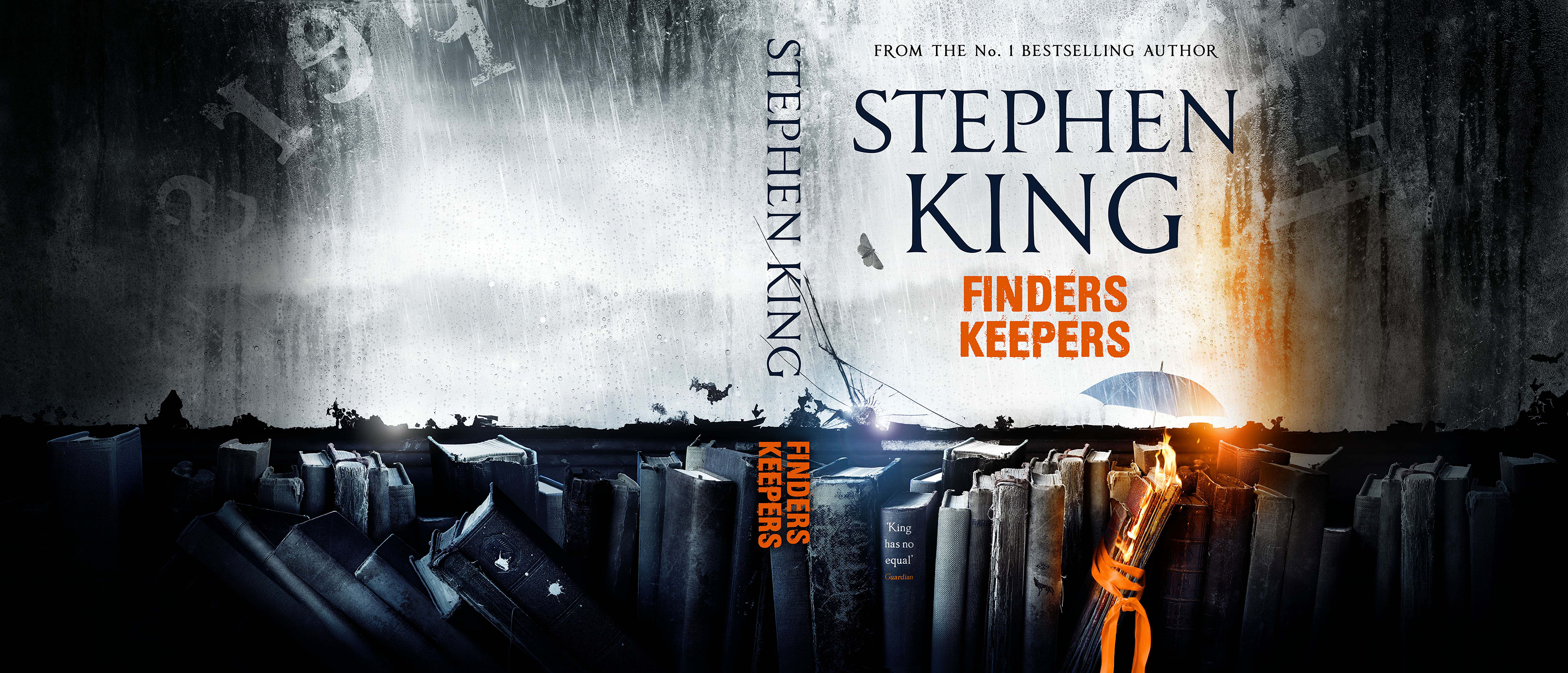 Stephen King's UK FINDERS KEEPERS cover | Hodderscape