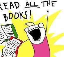 NaNoDodo Day 17: Read All The Books