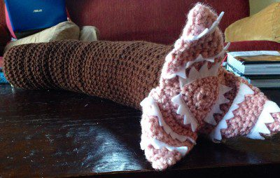 Knitted Dune Sandworm