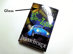 Book Cover Gloss Finish
