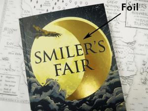 Book Cover Gold Foil