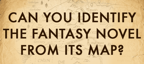 Quiz: can you identify the fantasy novel from its map?