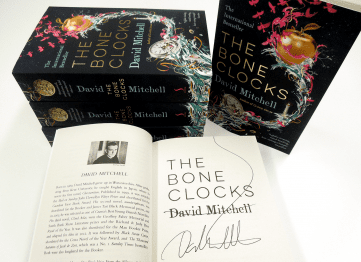 Signed David Mitchell Bone Clocks