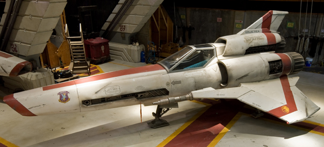 The Colonial Viper Battlestar Galactica