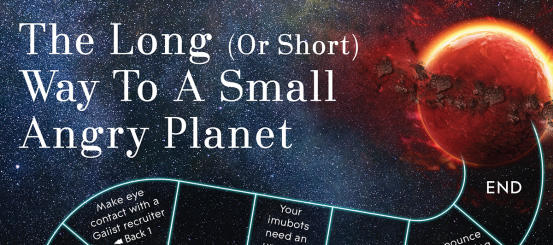 Board game: The Long (Or Short) Way To A Small Angry Planet