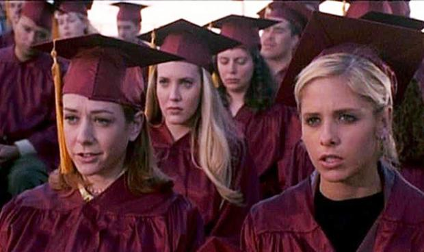 Buffy Graduation