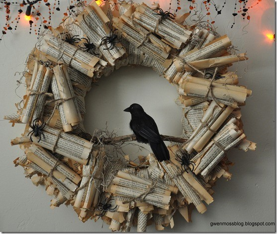 Edgar Allan Poe Wreath