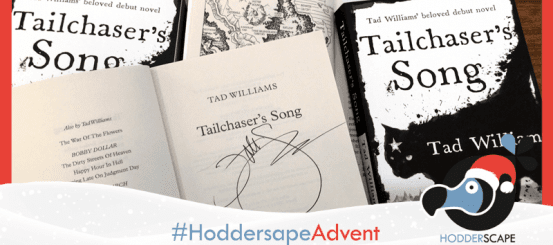 Hodderscape Advent: win a signed copy of Tailchaser's Song!