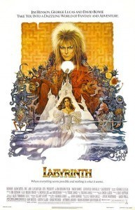 labyrinth 80s poster