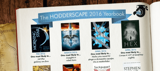 Coming from Hodderscape in 2016