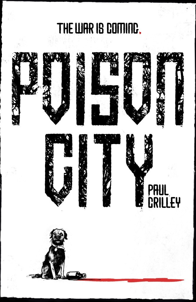 Poison City Paul Crilley Cover