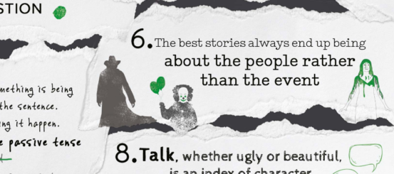 Infographic: 14 top tips from Stephen King's On Writing