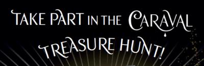 Caraval treasure hunt poster