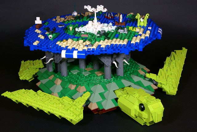 LEGO Discworld Great A'Tuin