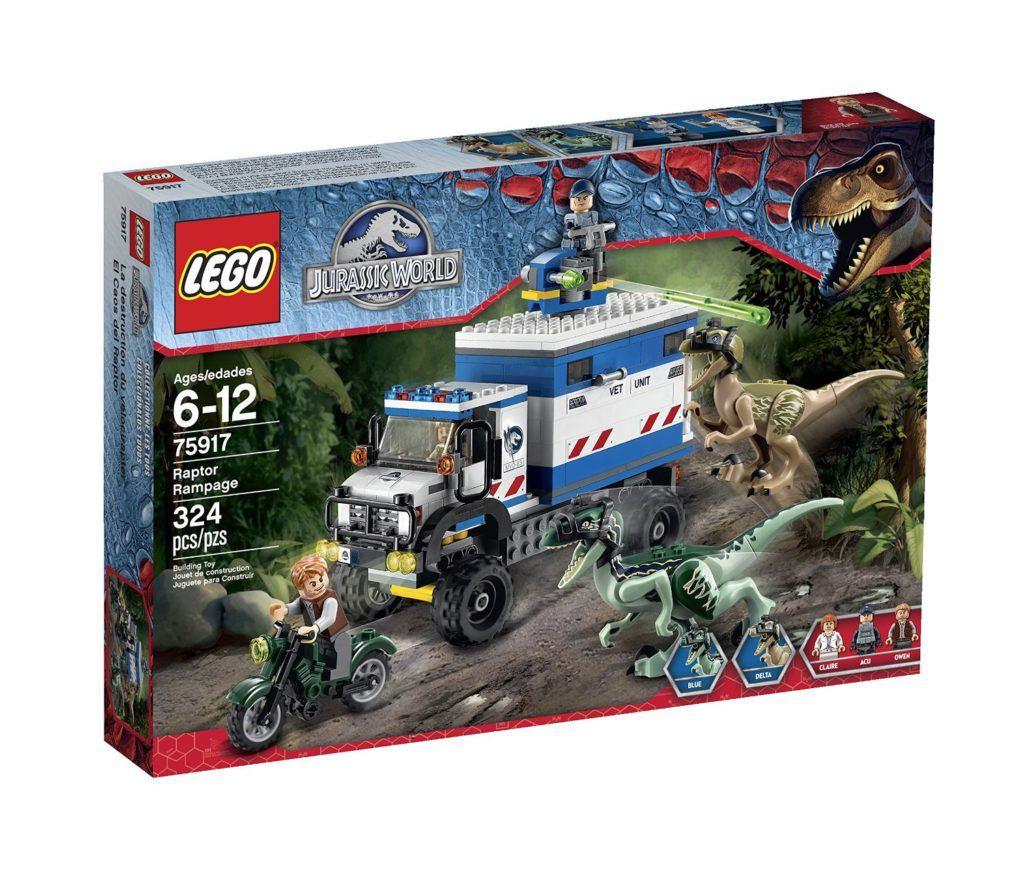 Raptor Rampage Lego