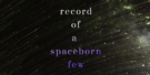 Blurb reveal: Record of a Spaceborn Few by Becky Chambers