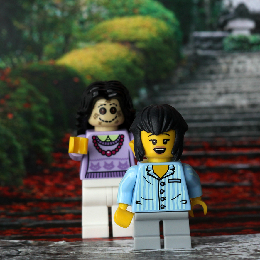 Coraline  in LEGO form