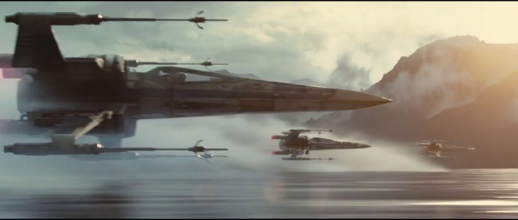 Star Wars Trailer - X-wings