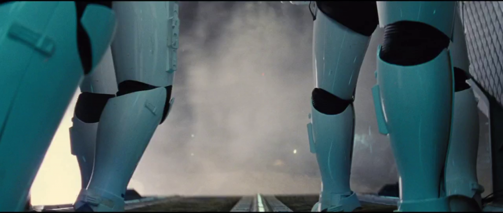 Star Wars Trailer - Stormtrooper legs