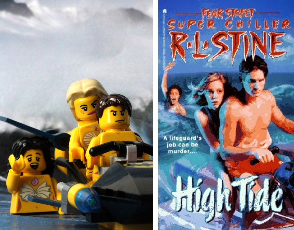 R.L Stine High Tide Lego