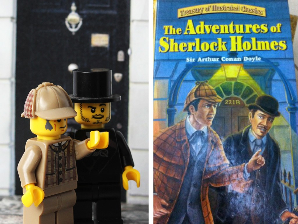 The Adventures of Sherlock Holmes Lego