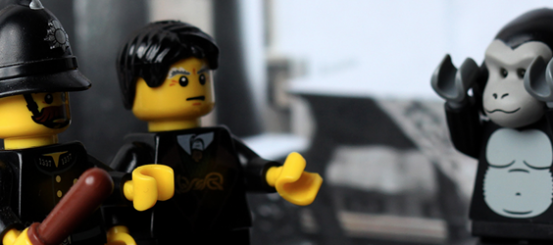 7 horror classics retold with LEGO