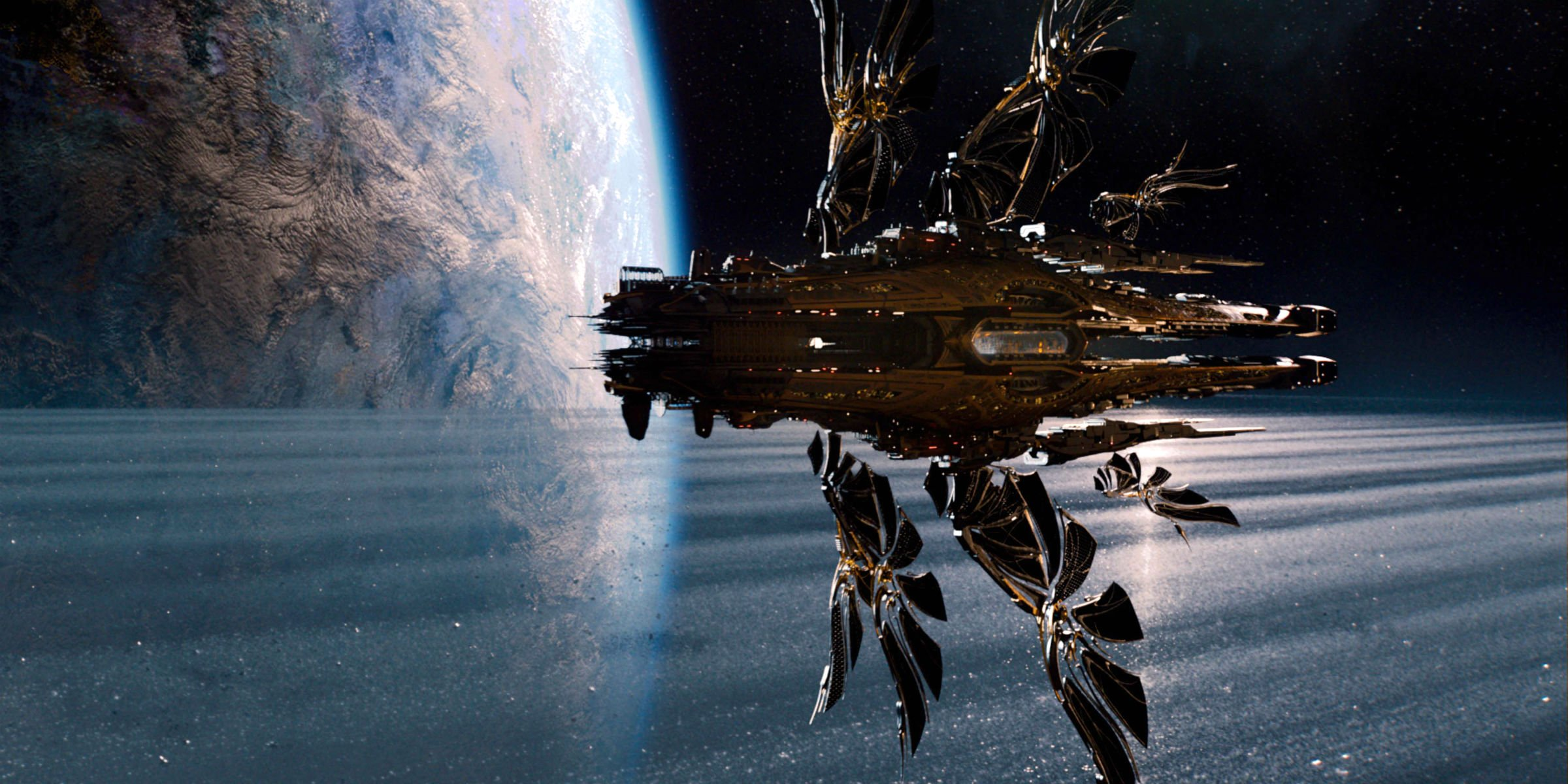 jupiter ascending spaceship