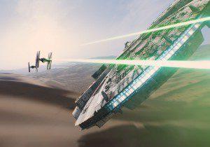 Star Wars 7 Millenium Flacon