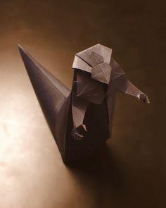 Dune Origami Sandworm