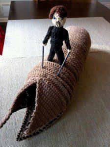 Dune Sandworm Crochet