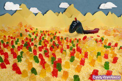 Gummy Dune Sandworm