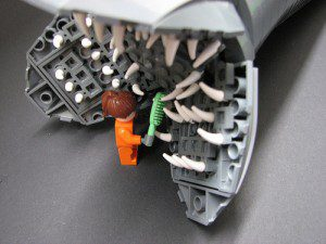 Lego Dune Sandworm 1