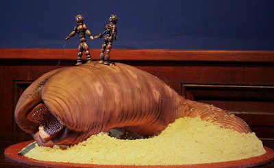 11 majestic handmade Dune sandworms
