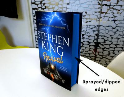 Book Sprayed Edges