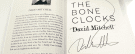 Win a signed copy of David Mitchell's The Bone Clocks!