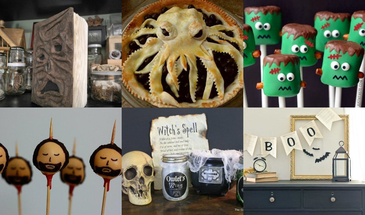 Halloween Crafts For Book Lovers Hodderscape