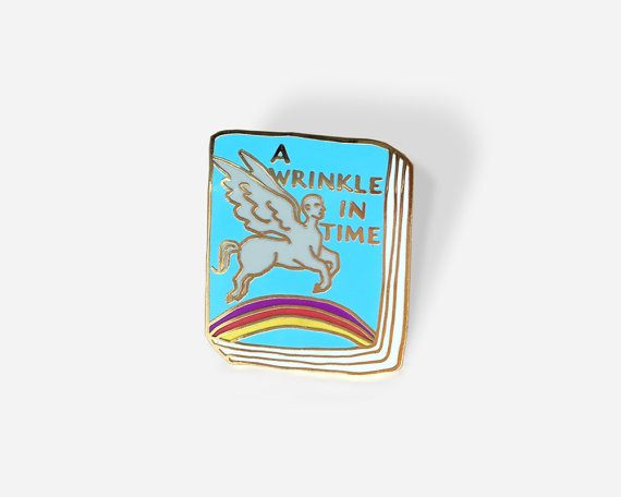 A Wrinkle in Time Book Pin
