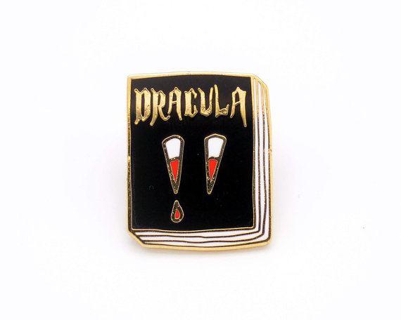 Dracula Enamel Pin
