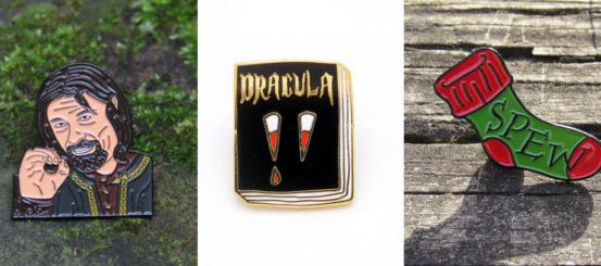 11 enamel pins for book geeks