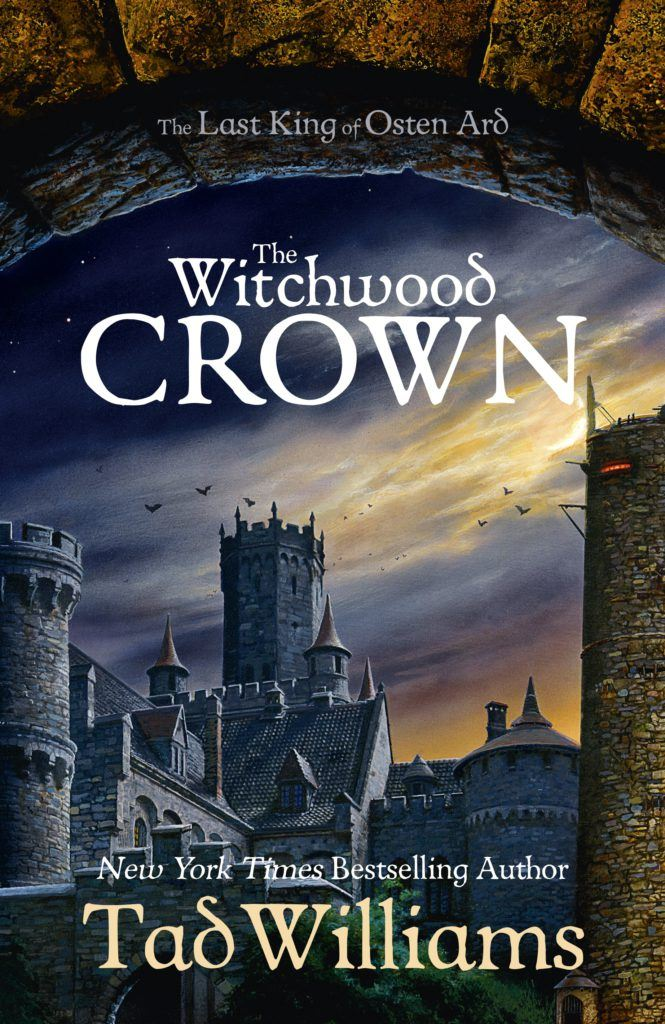 The Witchwood Crown UK cover
