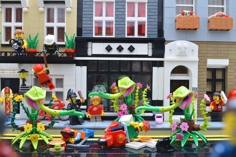 Day of the Triffids LEGO
