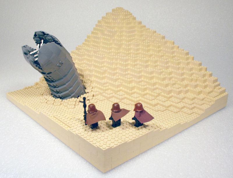 Dune LEGO sandworm
