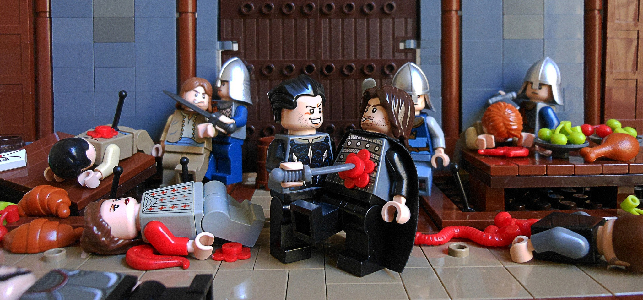 Red Wedding Song.Lego Game Of Thrones Red Wedding Hodderscape