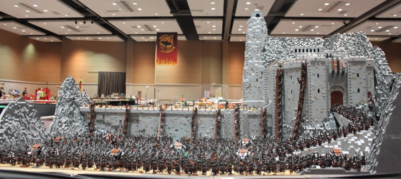 Lord of the Rings Helms Deep LEGO